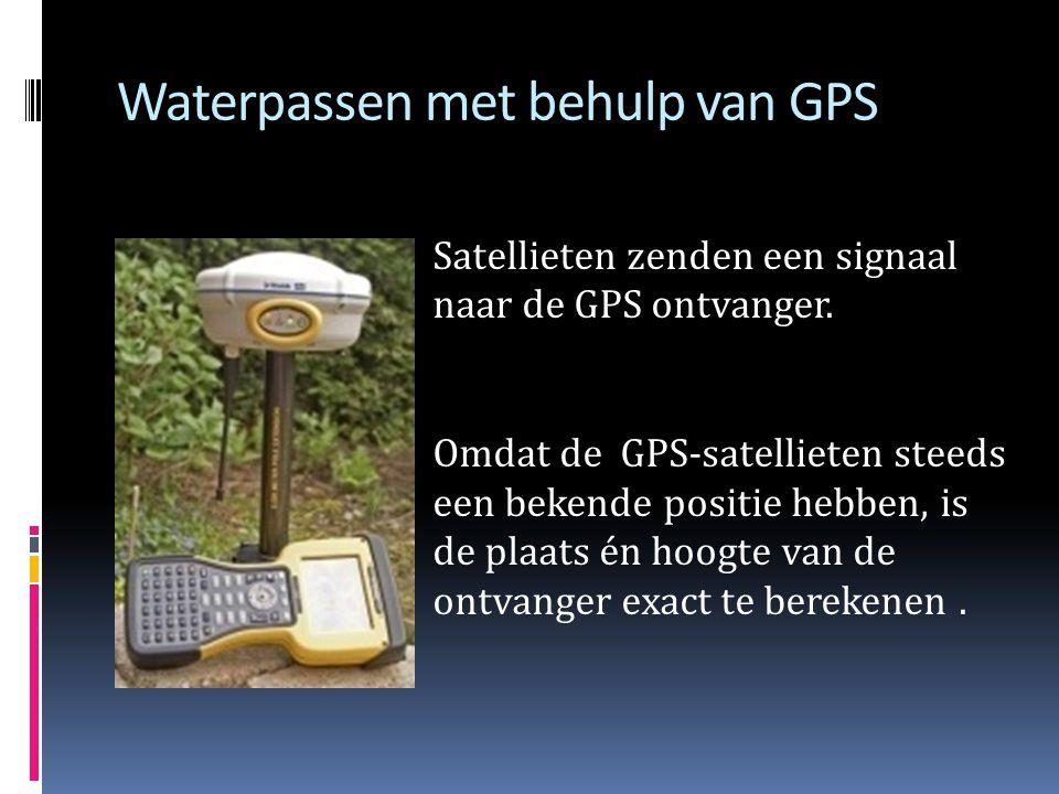 Waterpassen met behulp van GPS