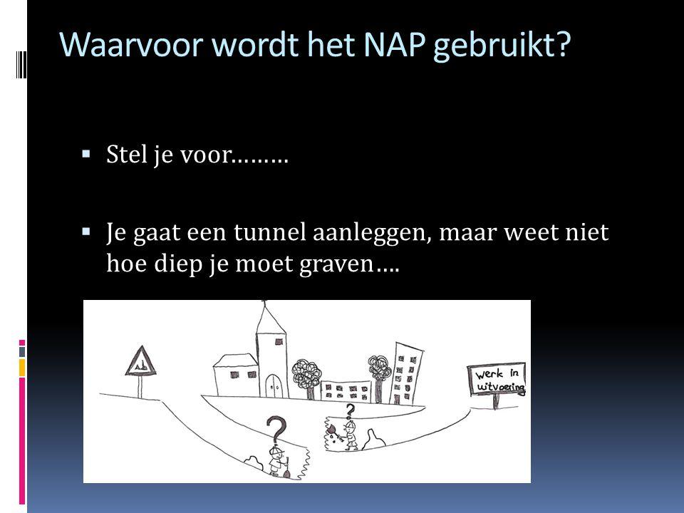 Waarvoor wordt het NAP gebruikt