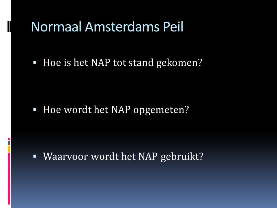 Normaal Amsterdams Peil