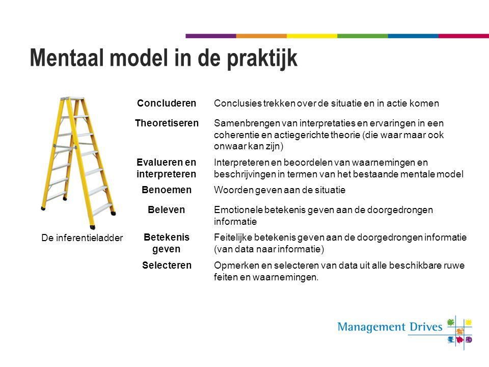 Mentaal model in de praktijk
