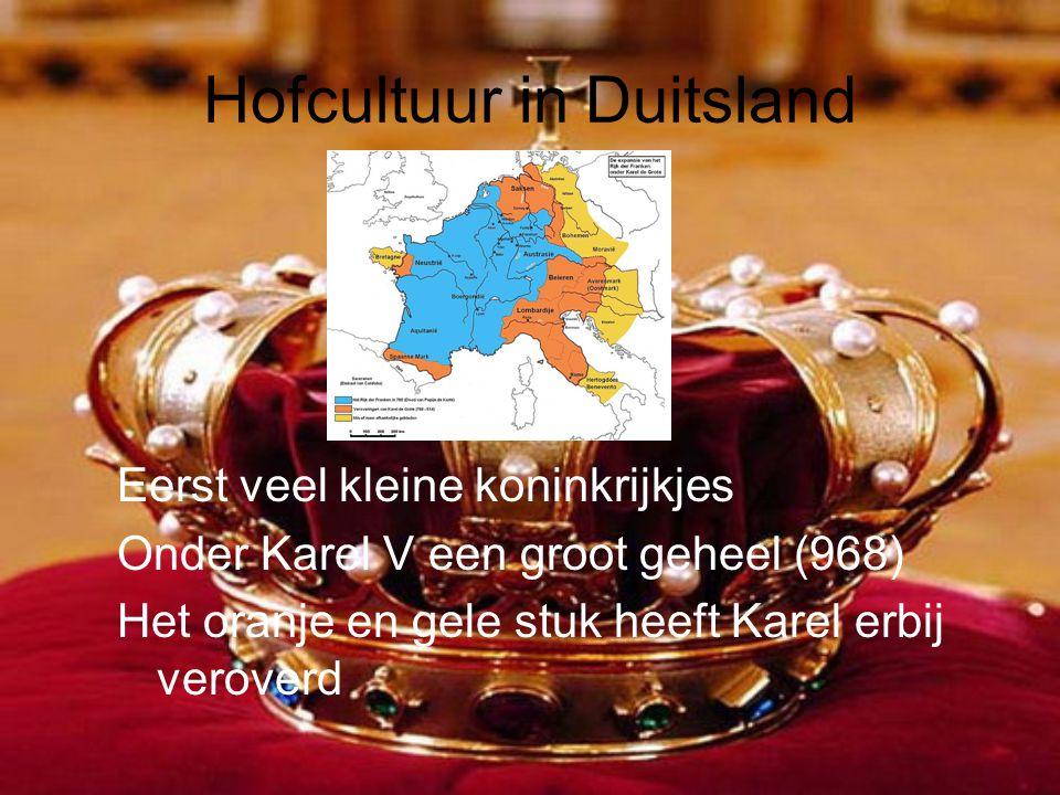 Hofcultuur in Duitsland