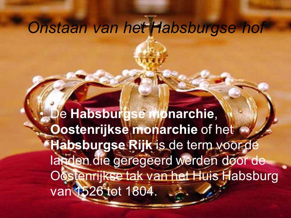 Onstaan van het Habsburgse hof