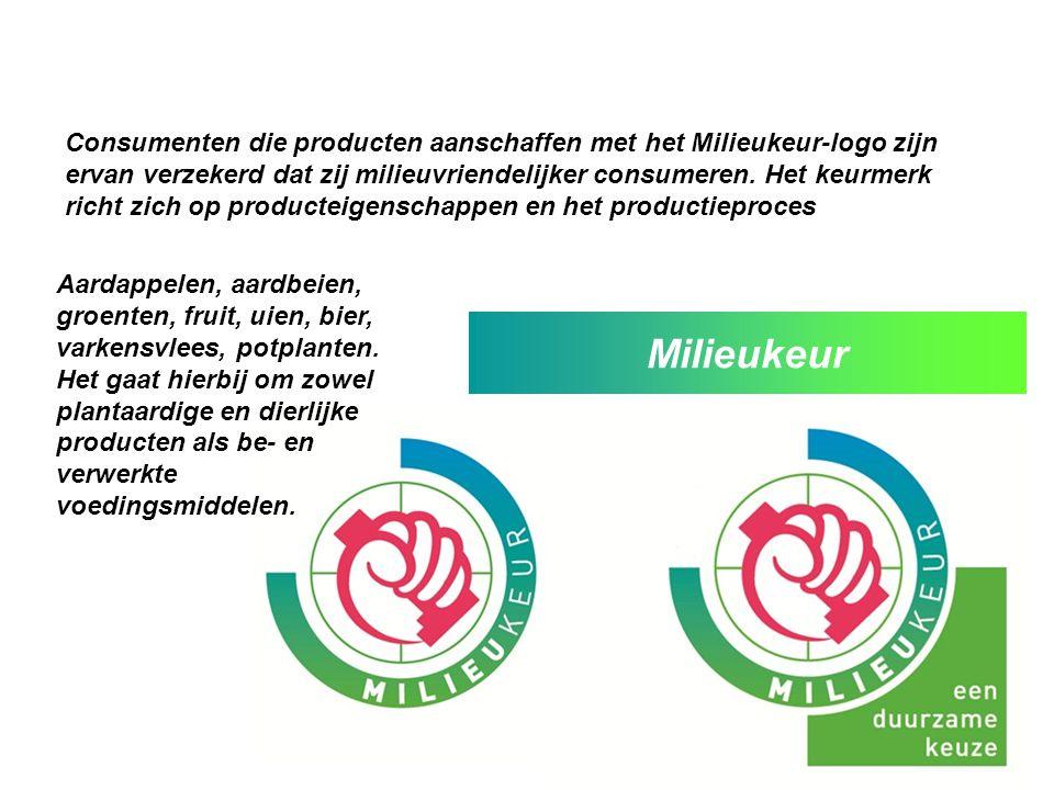 Consumenten die producten aanschaffen met het Milieukeur-logo zijn ervan verzekerd dat zij milieuvriendelijker consumeren. Het keurmerk richt zich op producteigenschappen en het productieproces