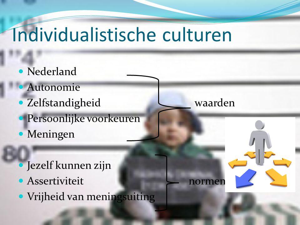 Individualistische culturen