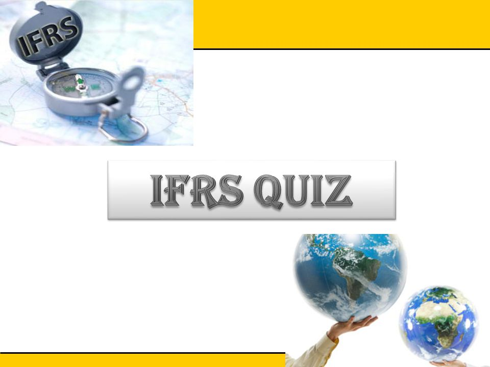IFRS QUIZ