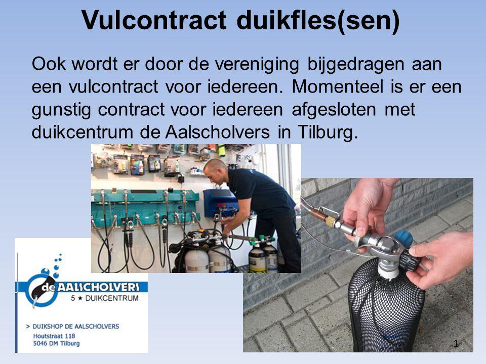 Vulcontract duikfles(sen)