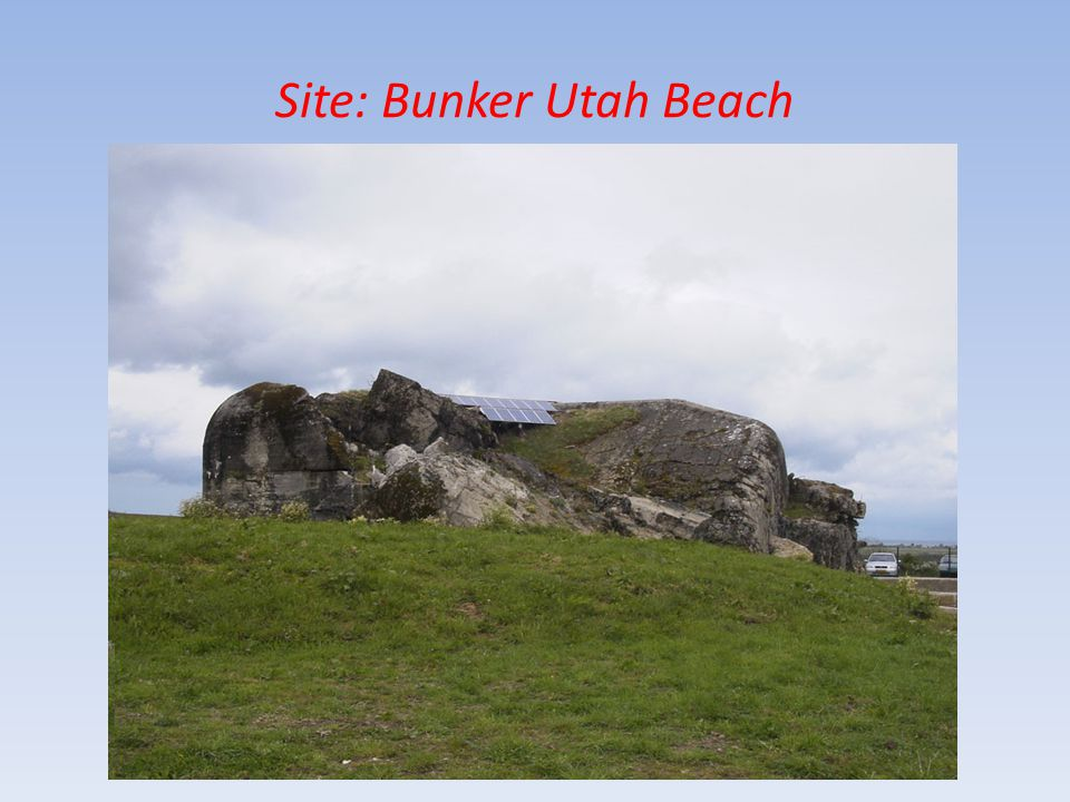 Site: Bunker Utah Beach