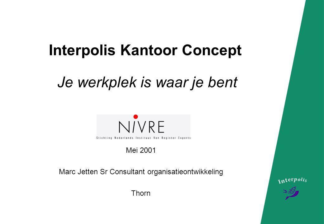 Interpolis Kantoor Concept Je werkplek is waar je bent