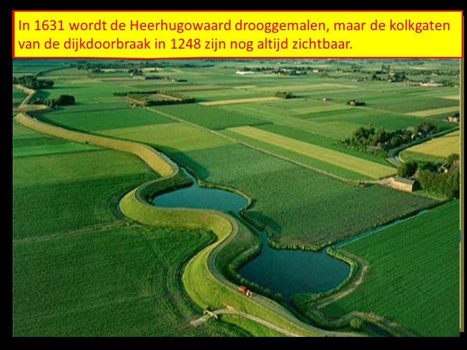De West-Friezen proberen hun door de oprukkende zee bedreigde land te redden. Ze bouwen de Westfriesche omringdijk.
