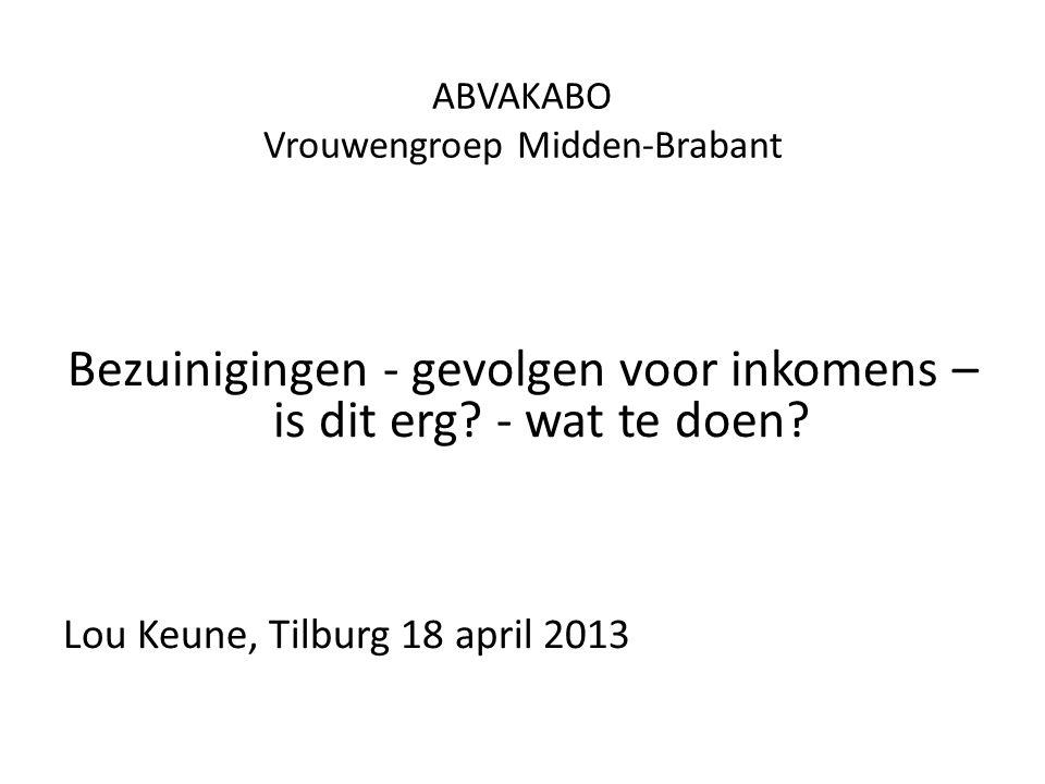 ABVAKABO Vrouwengroep Midden-Brabant