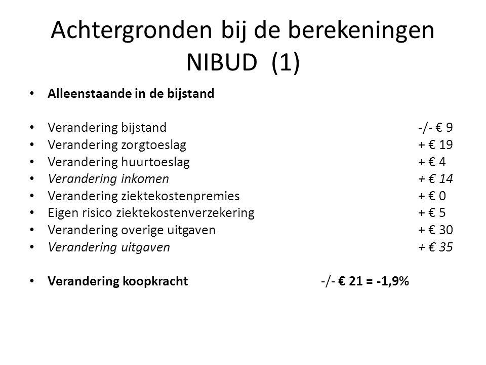 Achtergronden bij de berekeningen NIBUD (1)