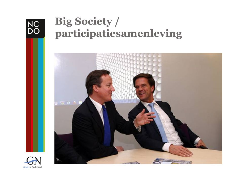 Big Society / participatiesamenleving
