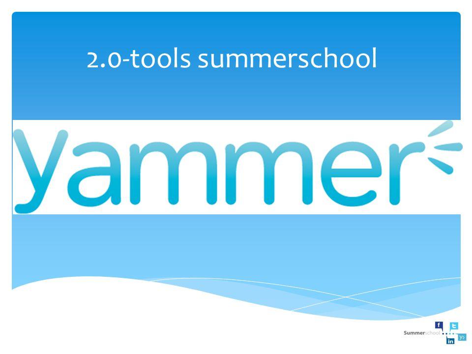 2.0-tools summerschool