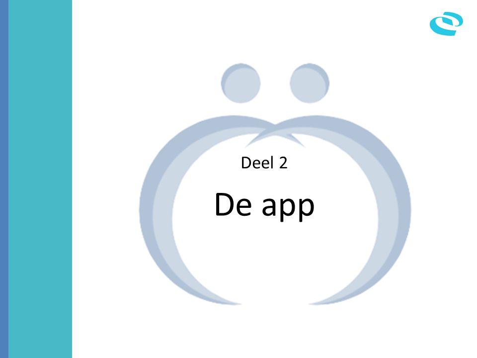 Deel 2 De app