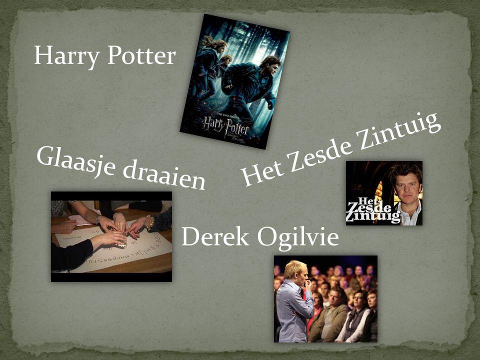 Harry Potter Het Zesde Zintuig Glaasje draaien Derek Ogilvie