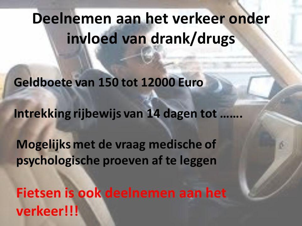 Deelnemen aan het verkeer onder invloed van drank/drugs