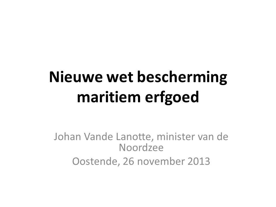 Nieuwe wet bescherming maritiem erfgoed