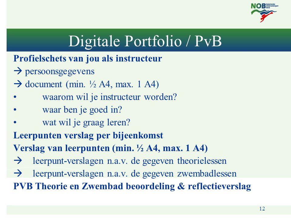 Digitale Portfolio / PvB