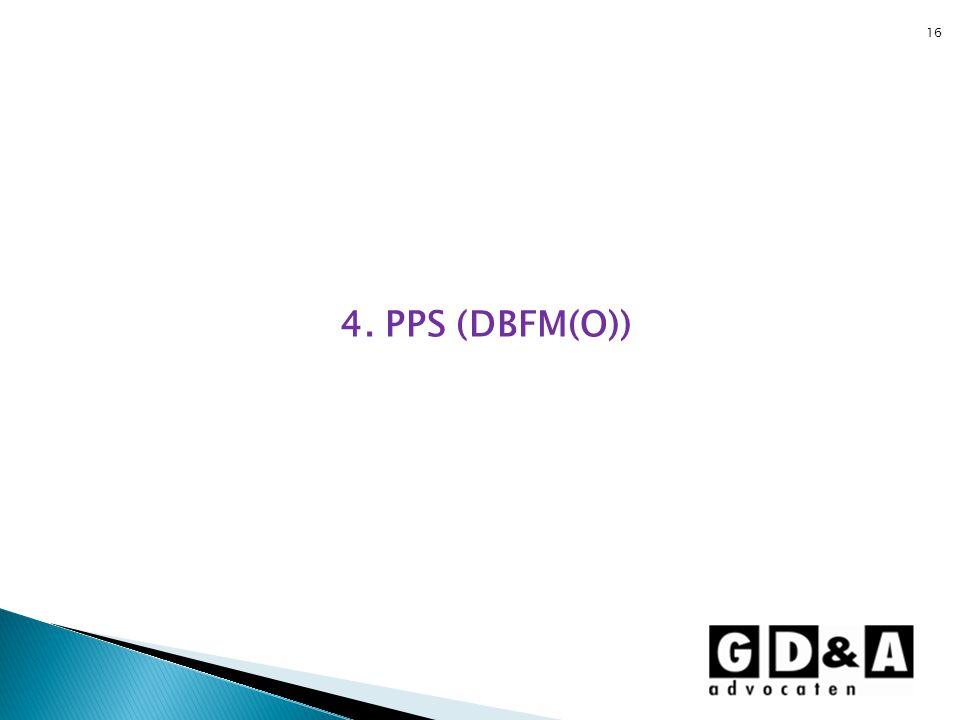 4. PPS (DBFM(O))