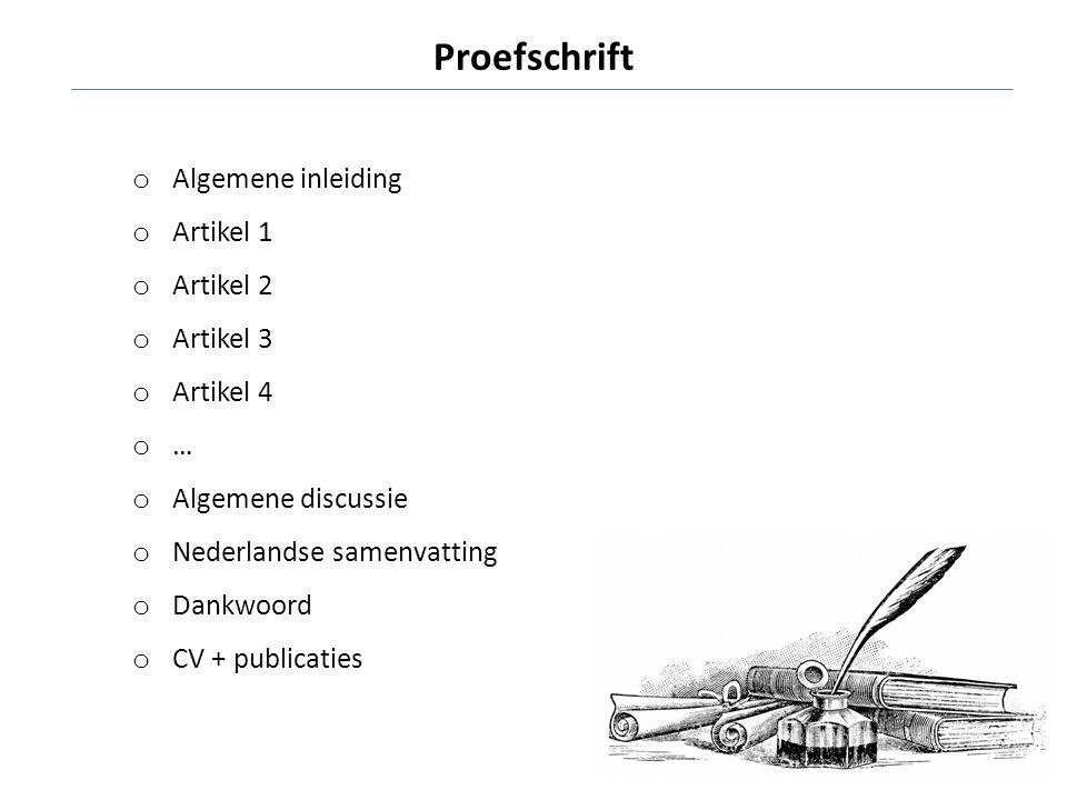 Proefschrift Algemene inleiding Artikel 1 Artikel 2 Artikel 3