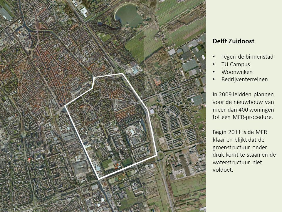 Delft Zuidoost Tegen de binnenstad TU Campus Woonwijken