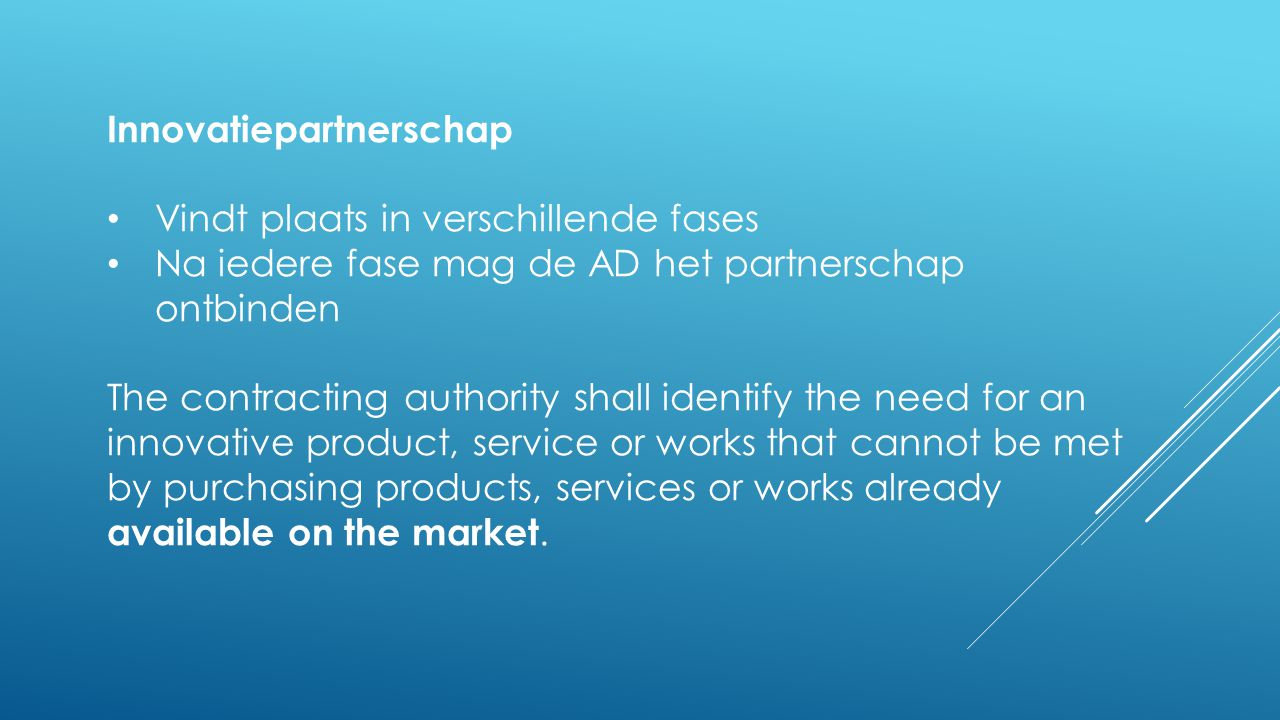 Innovatiepartnerschap