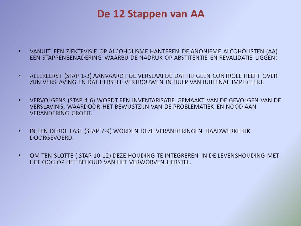 De 12 Stappen van AA