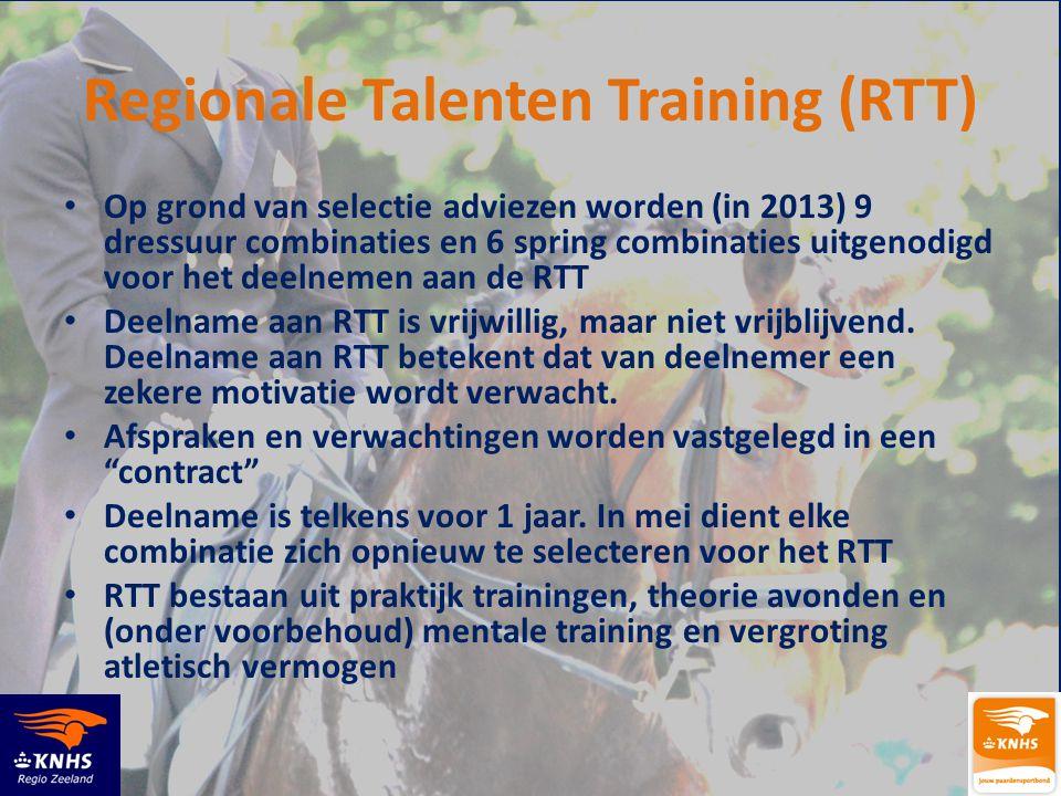 Regionale Talenten Training (RTT)