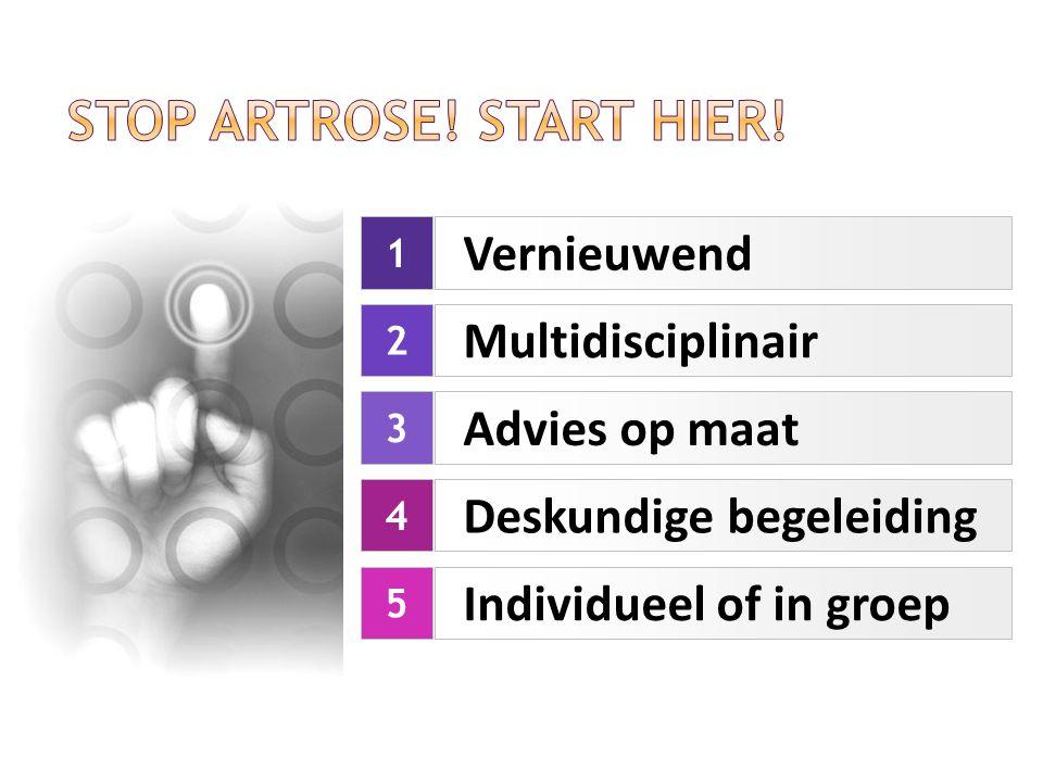 Stop Artrose! Start hier!