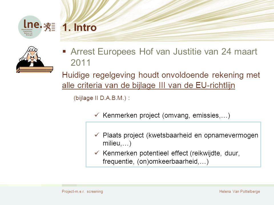 1. Intro Arrest Europees Hof van Justitie van 24 maart 2011