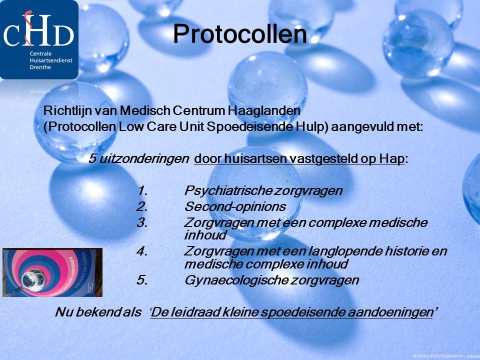 Protocollen Richtlijn van Medisch Centrum Haaglanden