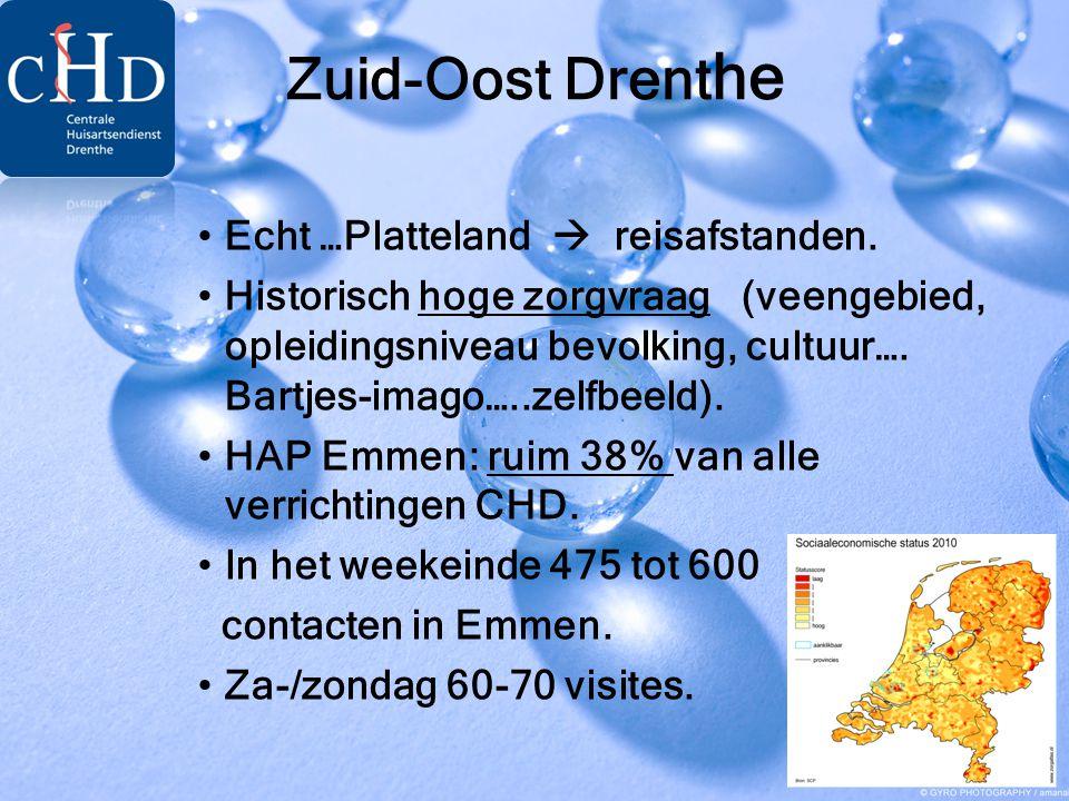 Zuid-Oost Drenthe Echt …Platteland  reisafstanden.