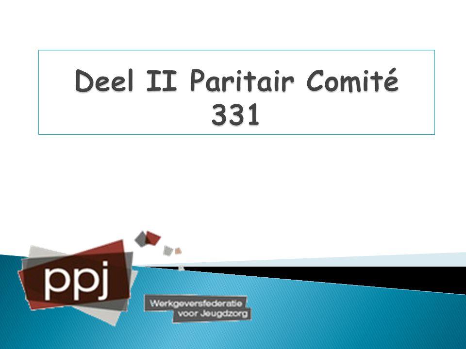 Deel II Paritair Comité 331