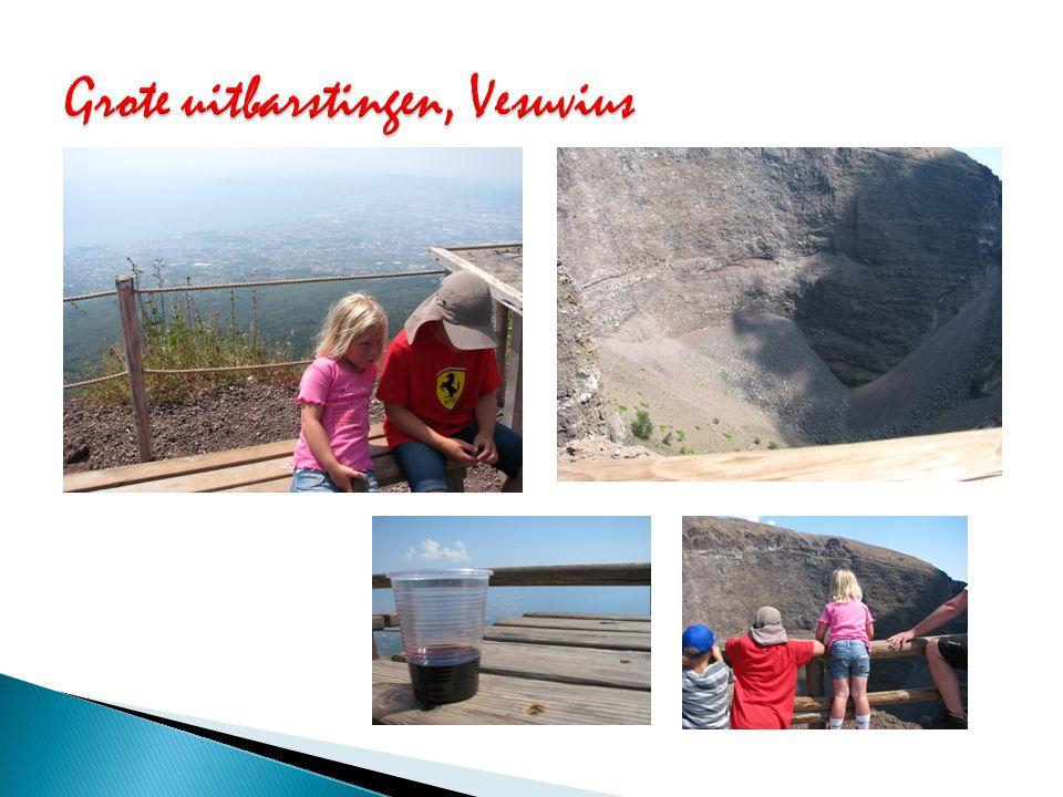 Grote uitbarstingen, Vesuvius
