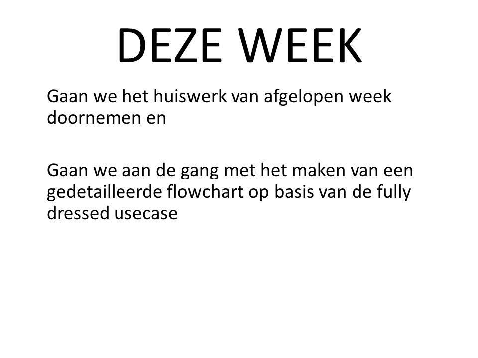DEZE WEEK