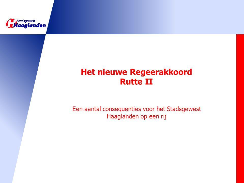 Het nieuwe Regeerakkoord Rutte II
