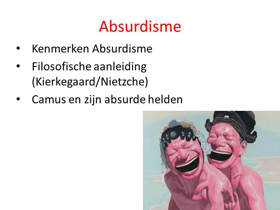 Absurdisme Kenmerken Absurdisme