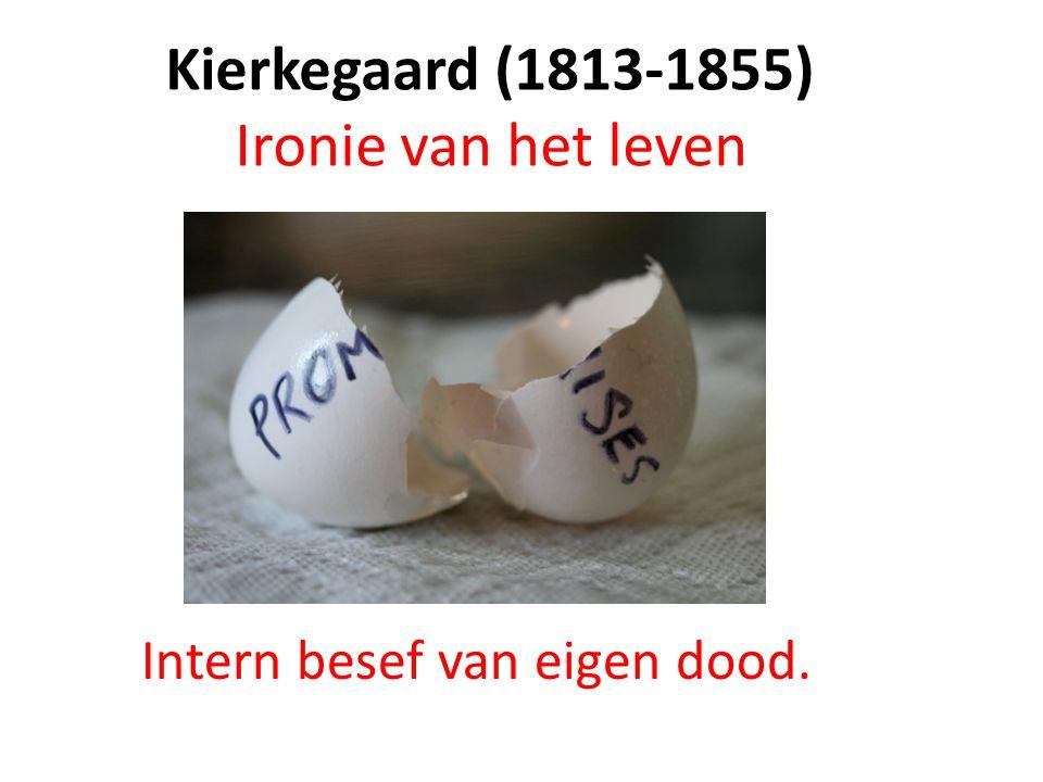 Kierkegaard (1813-1855) Ironie van het leven