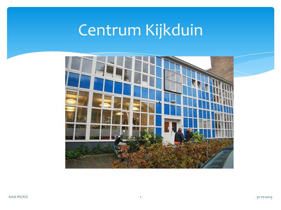 Centrum Kijkduin KNA PN/KO 31-10-2013