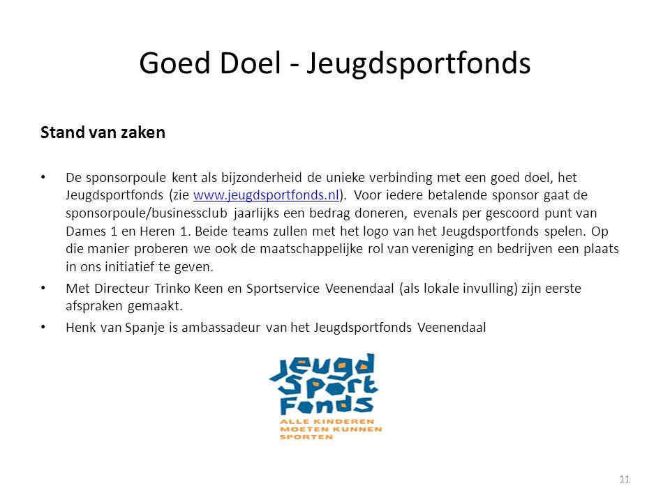 Goed Doel - Jeugdsportfonds