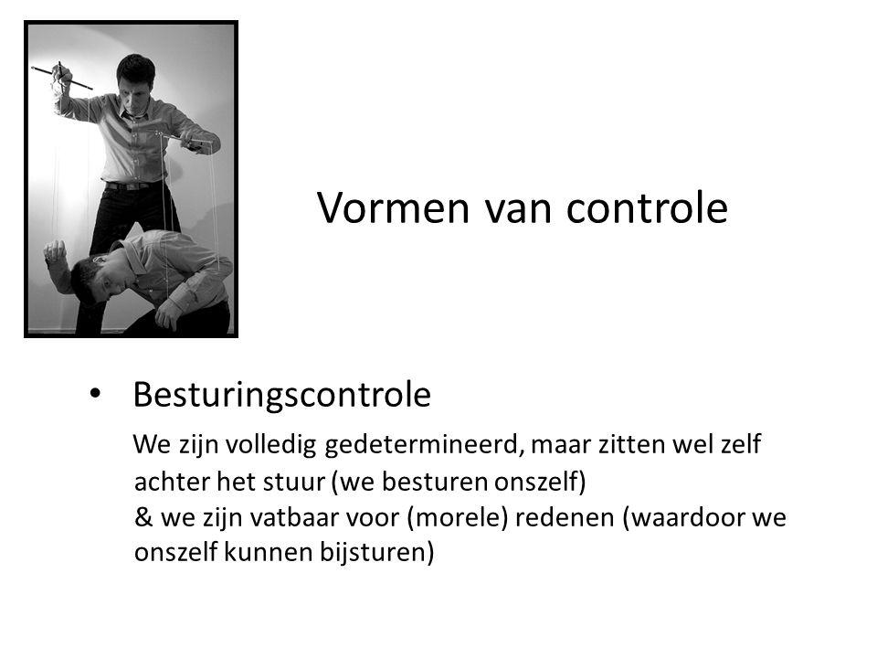 Vormen van controle Besturingscontrole