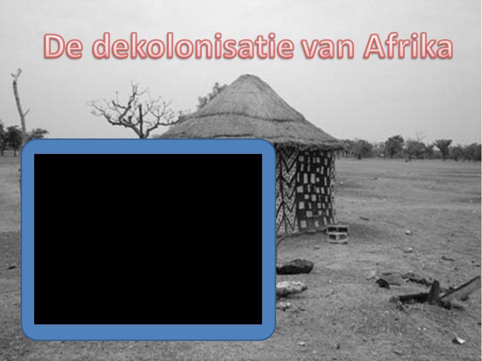 De dekolonisatie van Afrika