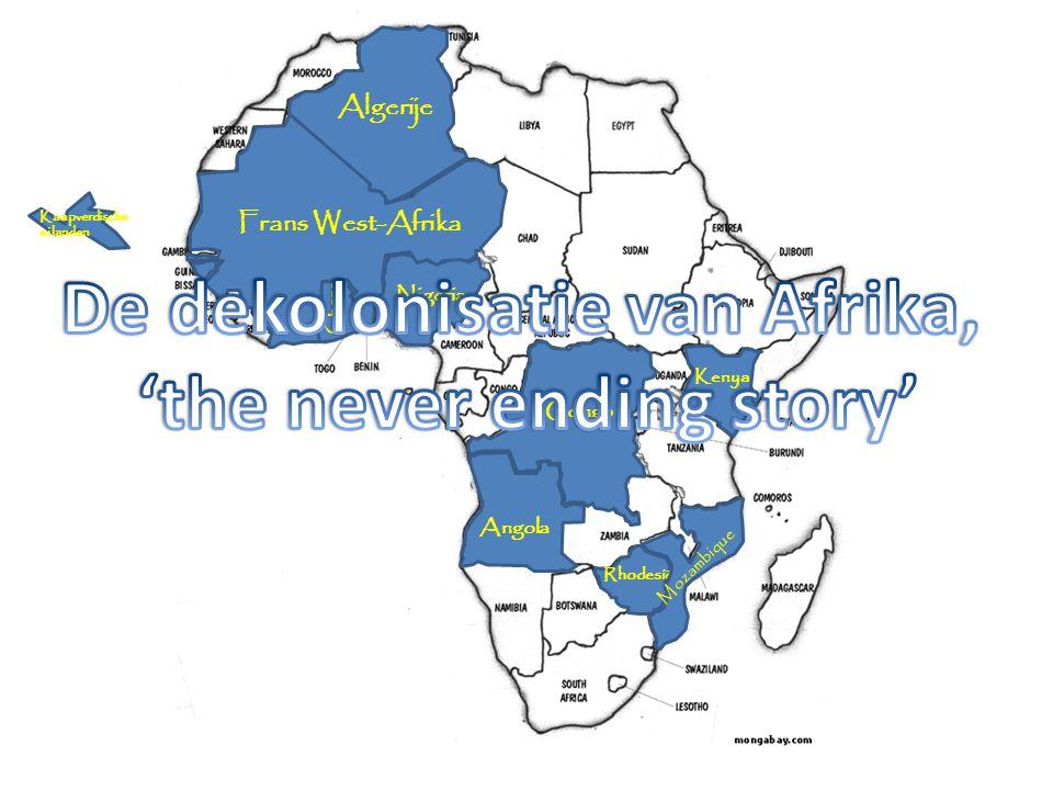 De dekolonisatie van Afrika, 'the never ending story'