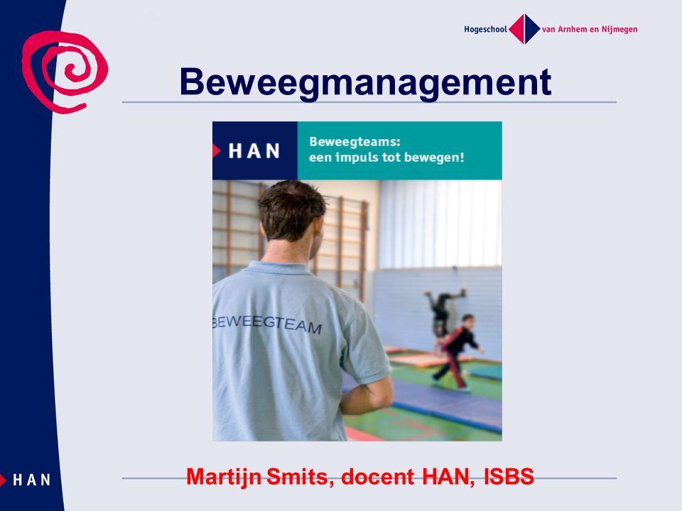 Martijn Smits, docent HAN, ISBS
