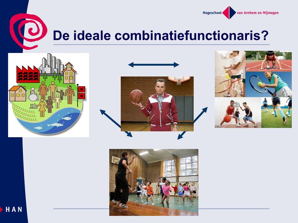 De ideale combinatiefunctionaris