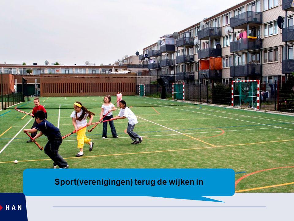 Sport(verenigingen) terug de wijken in