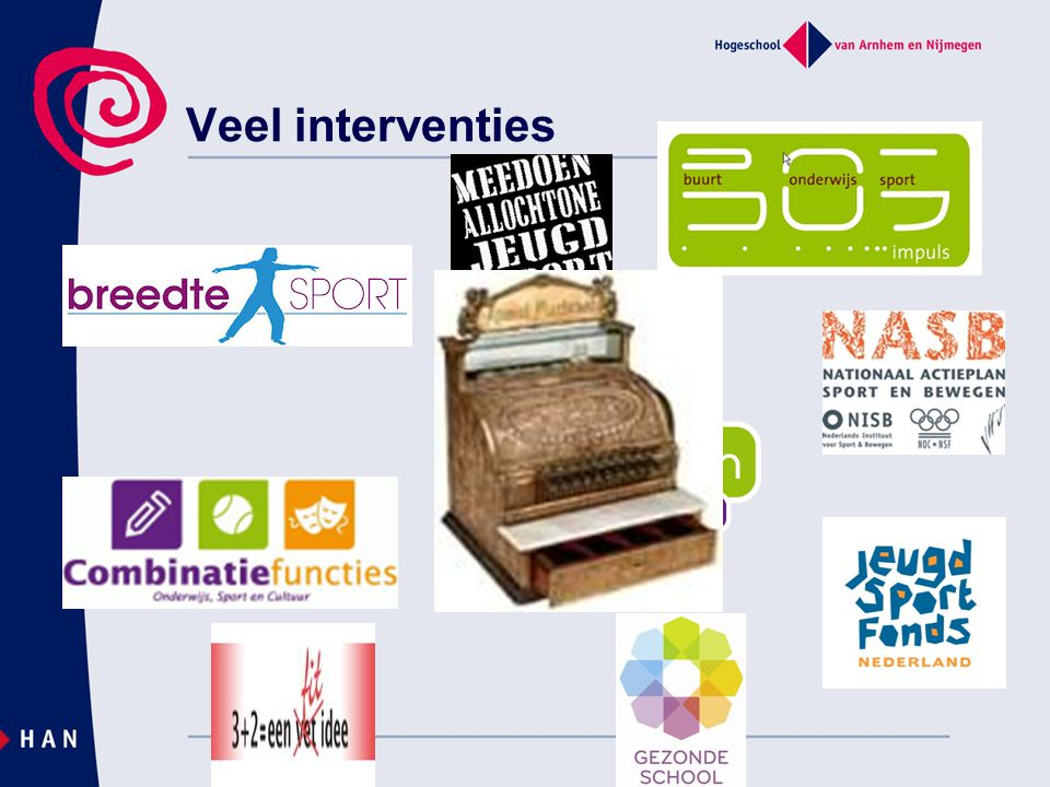 Veel interventies