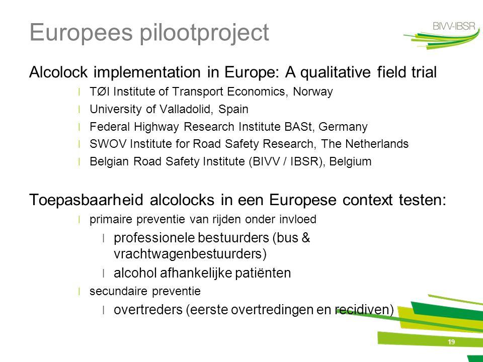 Europees pilootproject