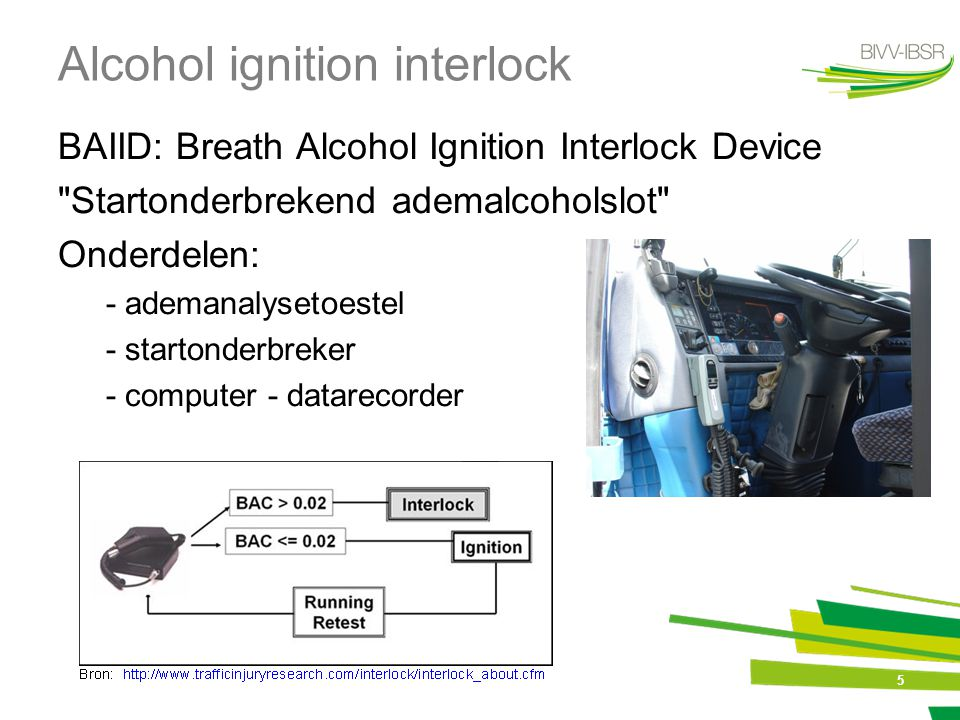 Alcohol ignition interlock