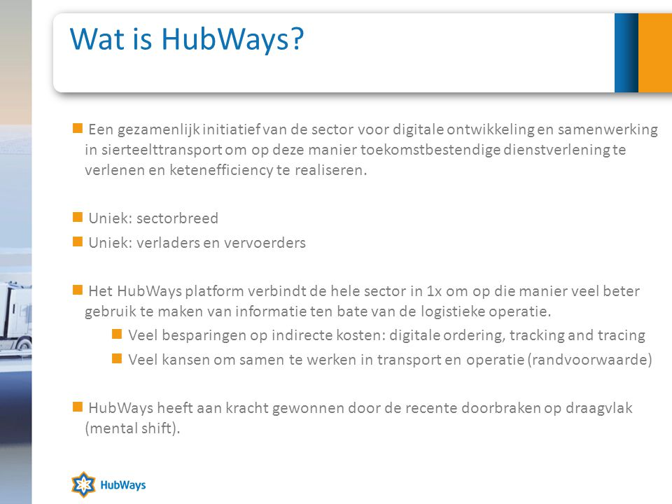 Wat is HubWays